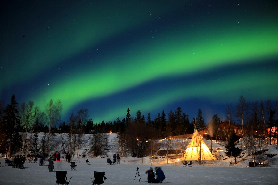 캐나다 옐로나이프에서 조우한 오로라의 추억~