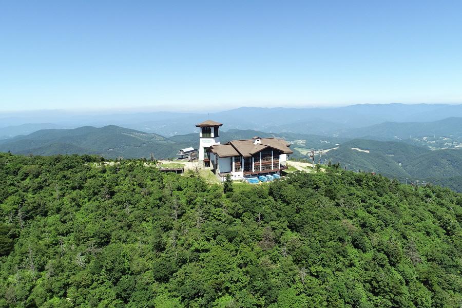 8왕(王)이 사는 곳~ 발왕산의 멋진 풍경입니다!