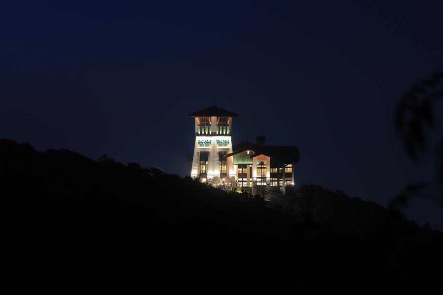 여름시즌 발왕산 케이블카는 야간운행을 합니다!!!