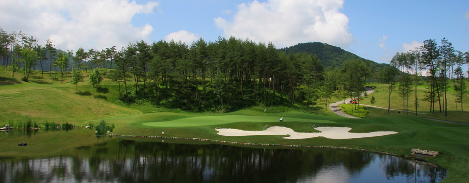 Golf in Yongpyong