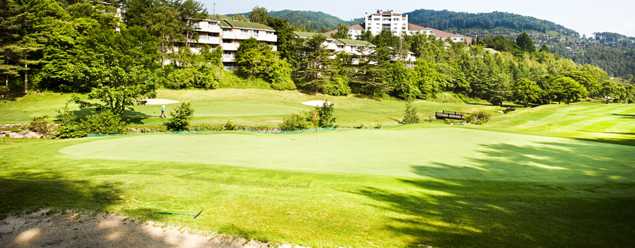 Yongpyong 9 Golf Club Course HOLE 2 : PAR 4 HDCP 7