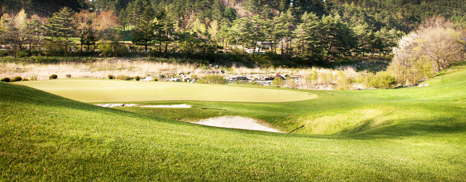 Yongpyong Golf Club Kangnaru HOLE 3 : PAR 4 HDCP 17