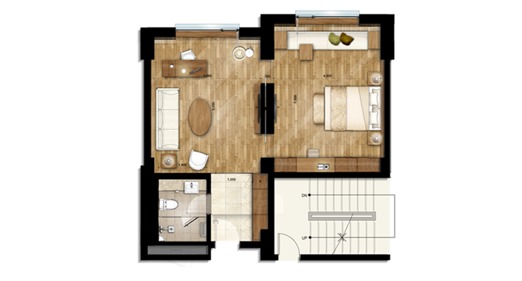 Hotel Suite Floor Plan